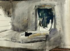 Christina's Bedroom by Andrew Wyeth