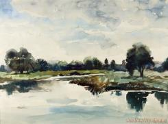 Concord River by Andrew Wyeth