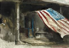 Independence Day by Andrew Wyeth