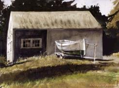 Lifeboat by Andrew Wyeth