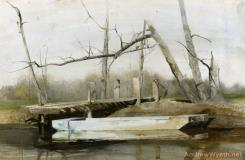 Riverboat by Andrew Wyeth