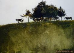 Shadey Trees by Andrew Wyeth