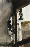 Shed Lantern by Andrew Wyeth