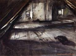The Attic by Andrew Wyeth