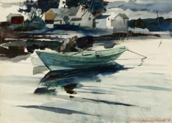 The Green Dory by Andrew Wyeth
